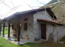 Riverside cottage for sale in Asturias north Spain